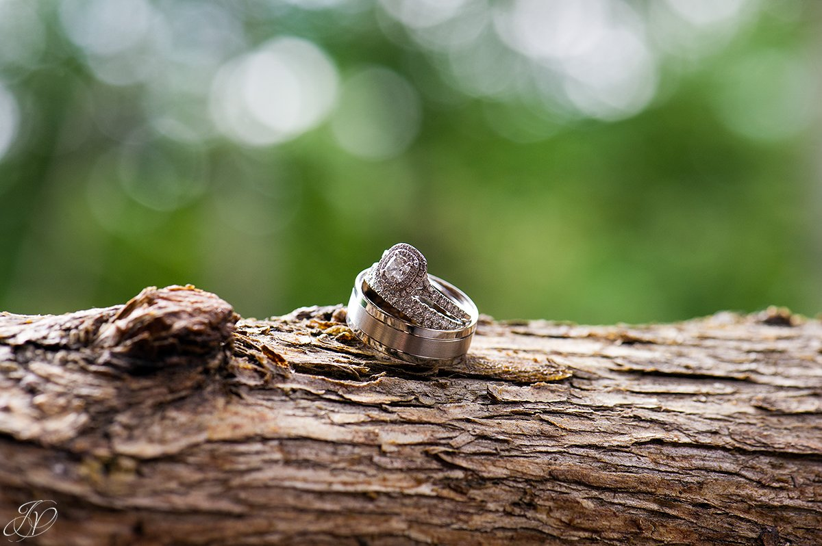 wedding ring details adirondack wedding details