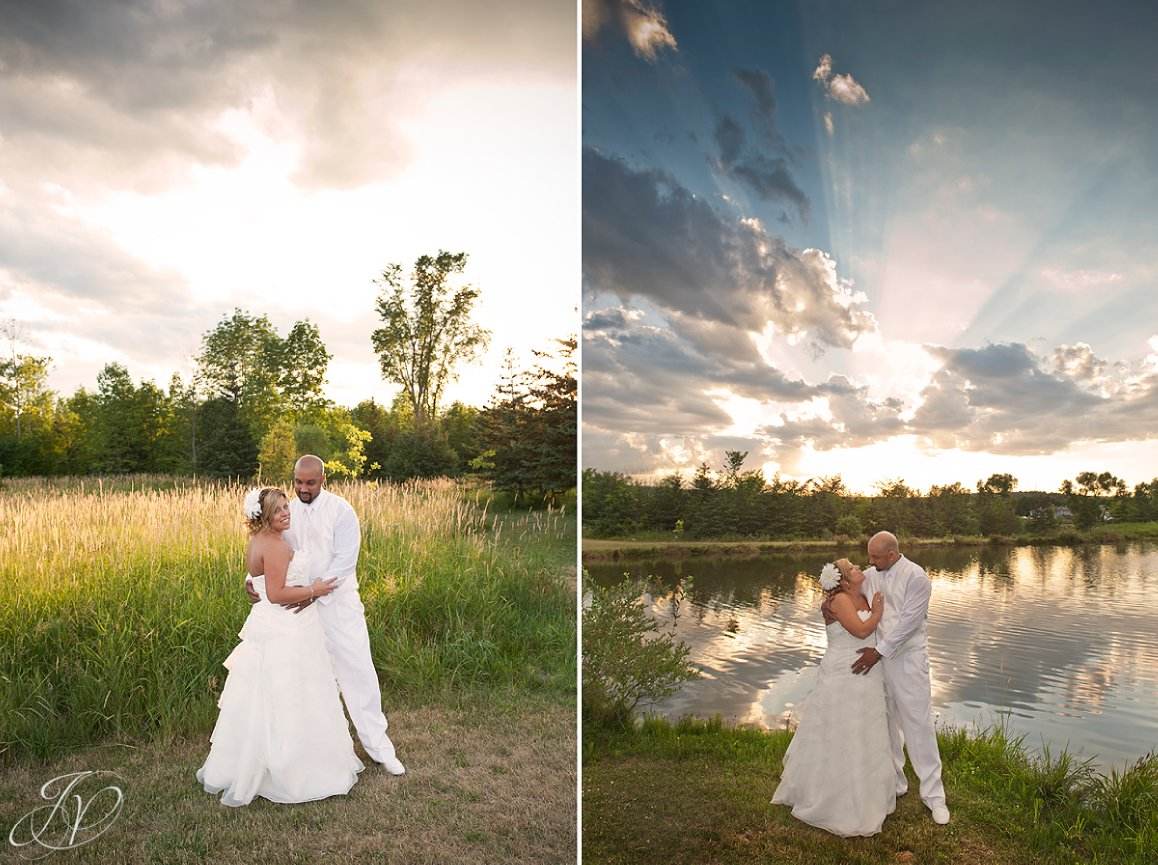 Settle Hill Tree Farm Wedding ,Albany Wedding Photographer, Michele and Sean, sunset photo, sunset portrait, bride and groom sunset