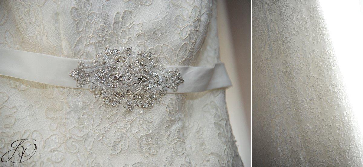bridal gown detail photo, bridal vail detail photo, lake placid wedding, Wedding at the Lake Placid Crowne Plaza, Lake Placid Wedding Photographer, wedding ring detail photo