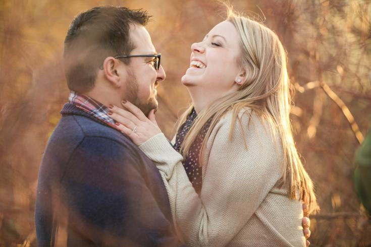 Megan & Ben. Engaged.
