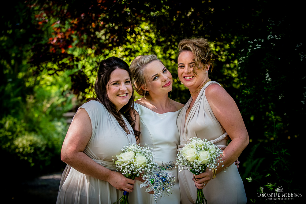 The Mill Barns Bride and Bridesmaids