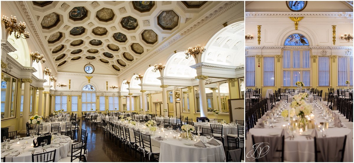 wedding reception details canfield casino ballroom