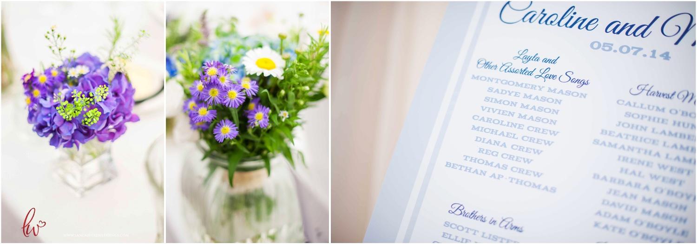Nunsmere Hall wedding details