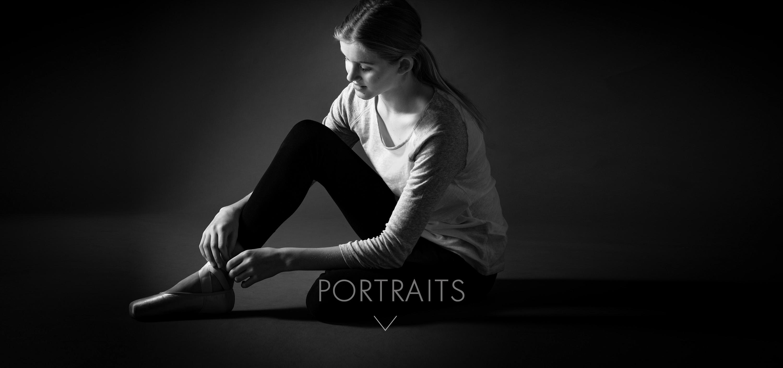 ballerina studio portrait