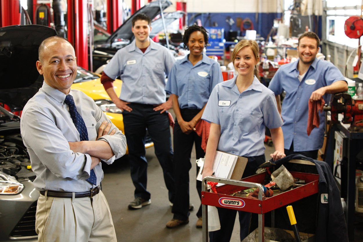 Auto Repair Shop Shoot