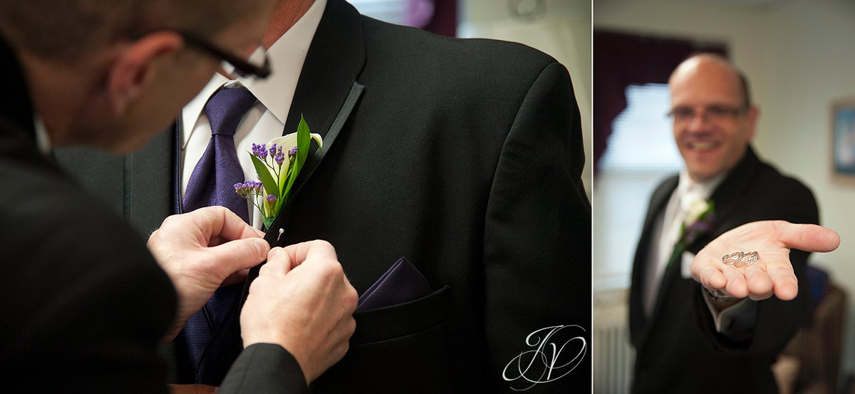 best man and wedding ring, wedding flower photo, Wedding at The Queensbury Hotel, Lake George Wedding Photographer
