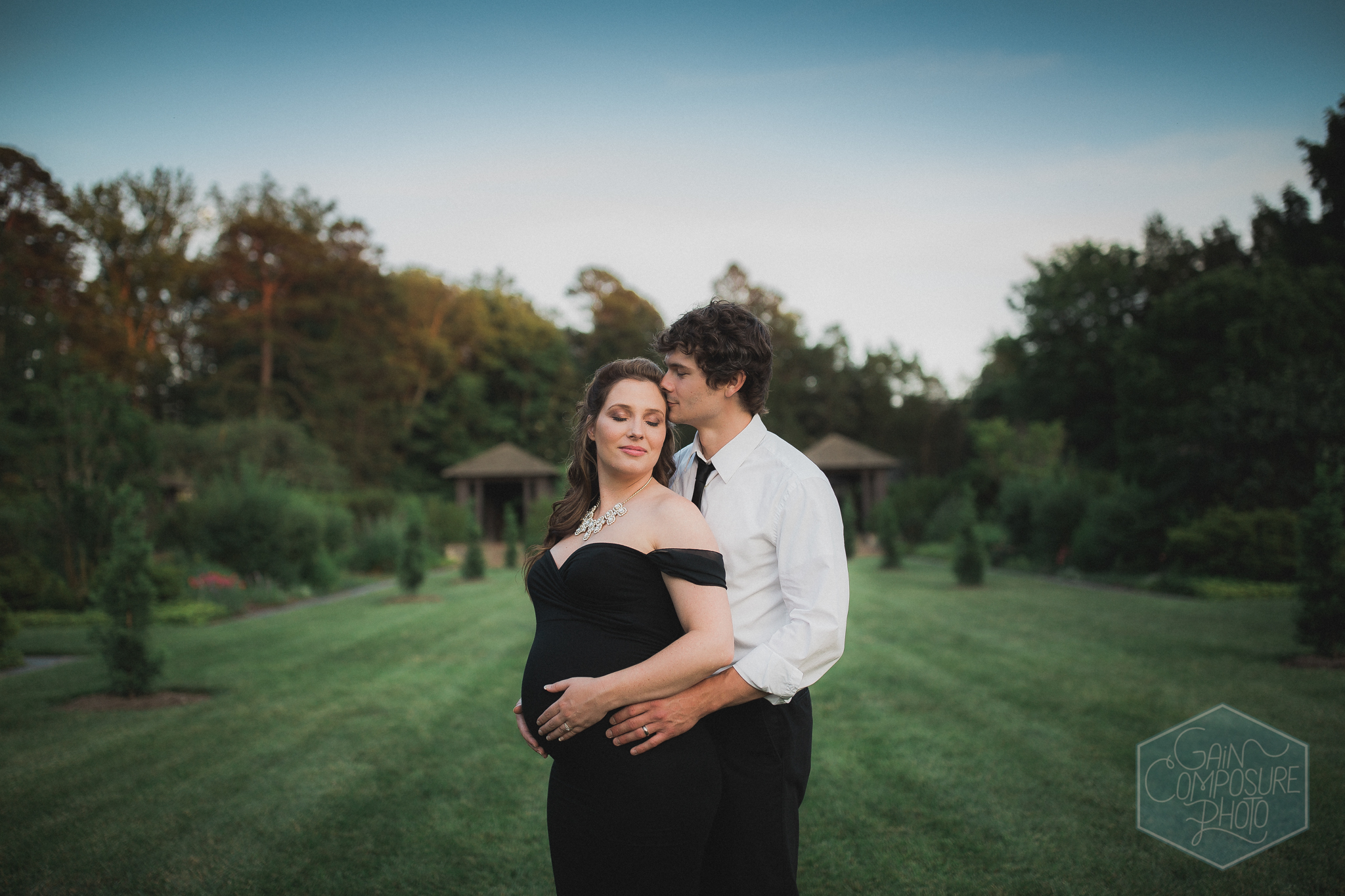 Maternity Session at Reynolda Gardens by Gain Composure Photography, Greensboro, NC