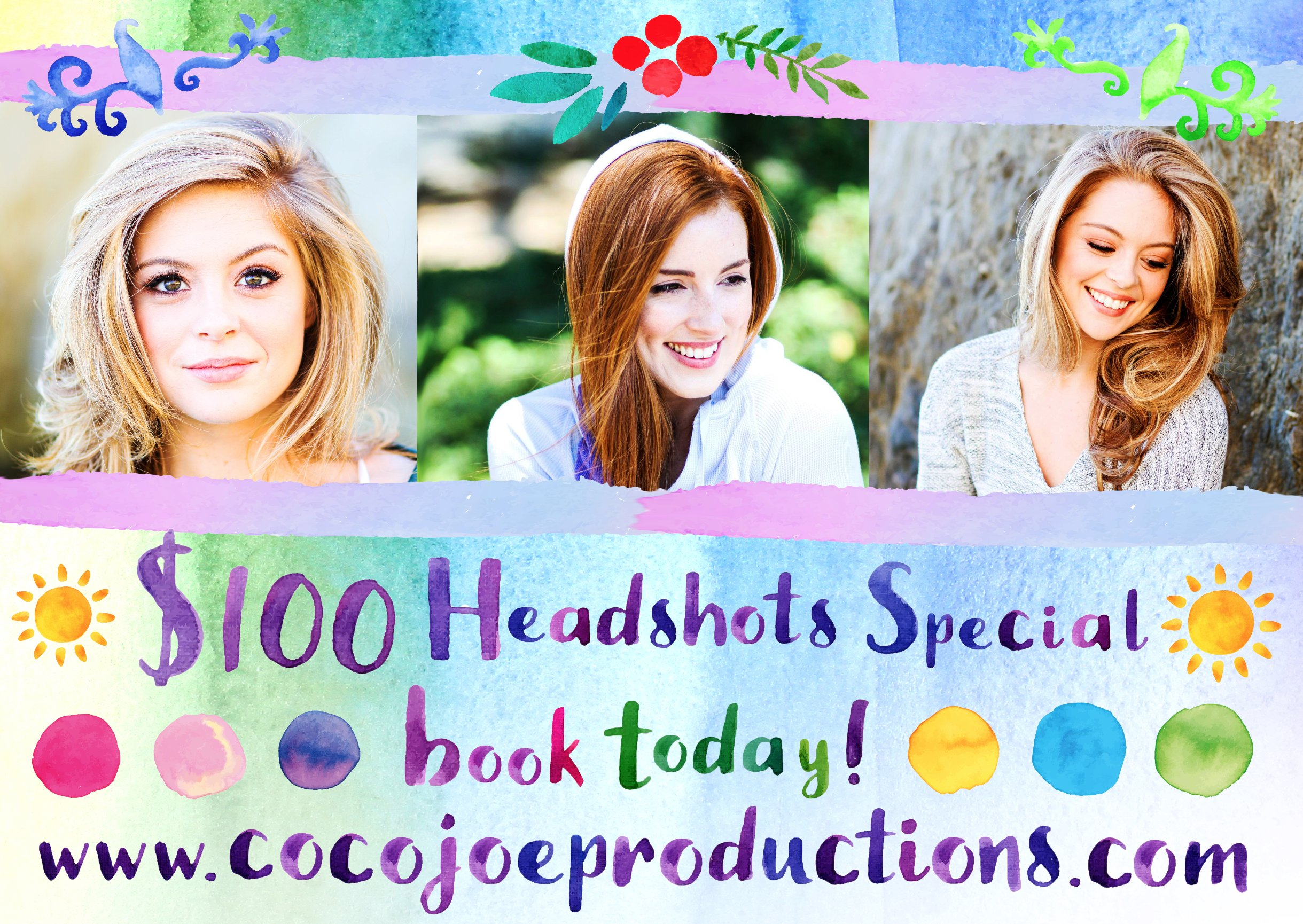 $100 Headshots Special - Los Angeles
