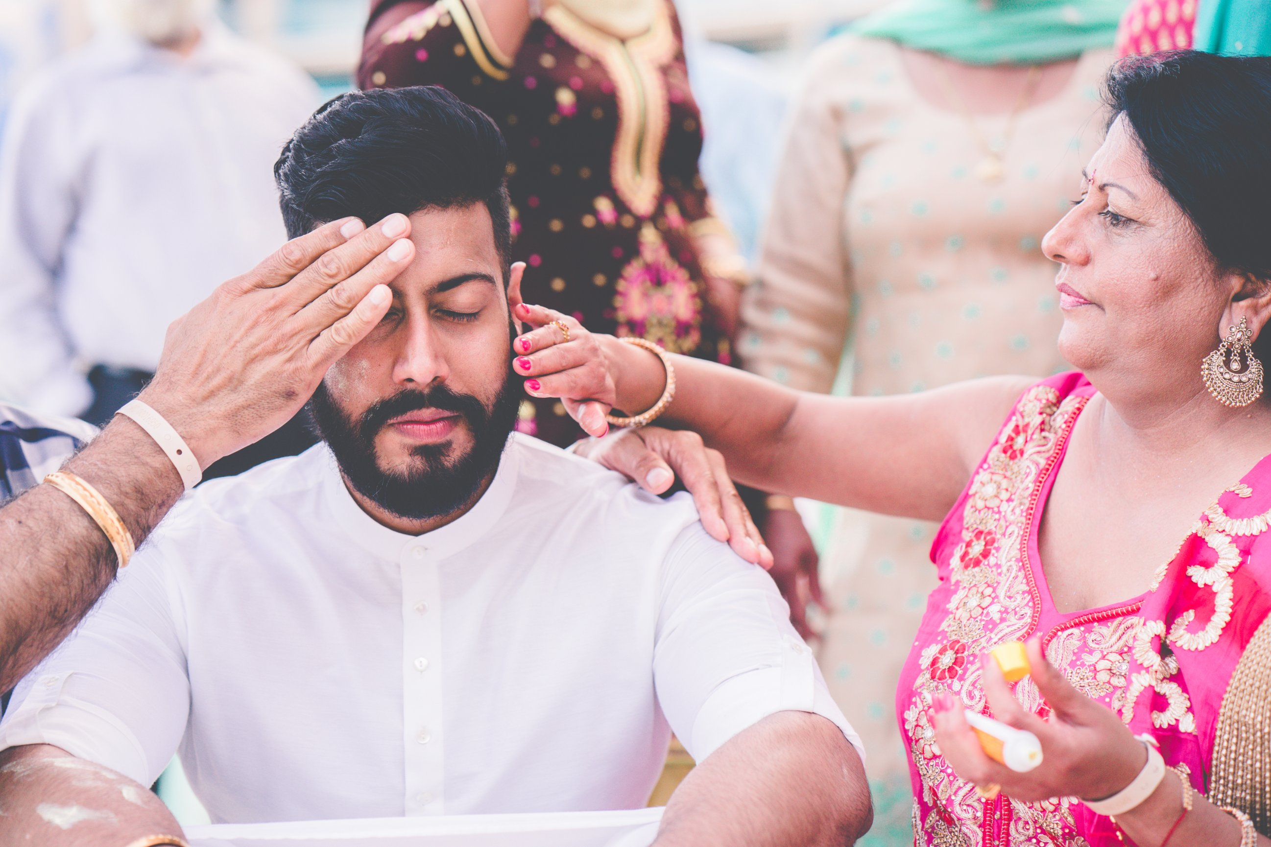 Jasmine + Dilpreet : Sikh Wedding at Hard Rock Cancun - Z Molu ...