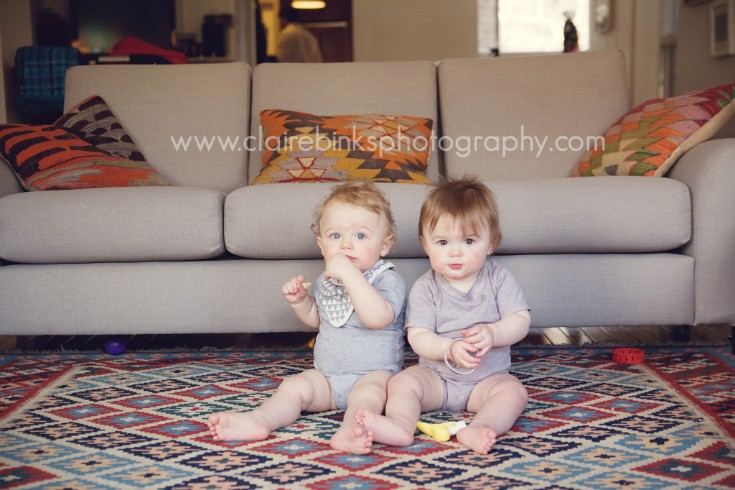Toronto Multiples Photographer -Sweet babies D & E- Claire Binks Photography