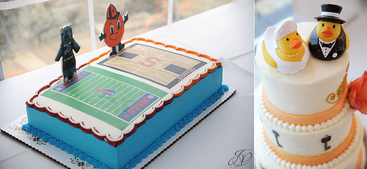 funny groom's cake, football grooms cake