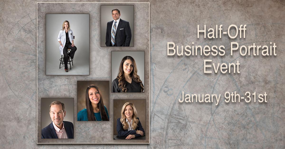 Half-Price headshot event through January 31st