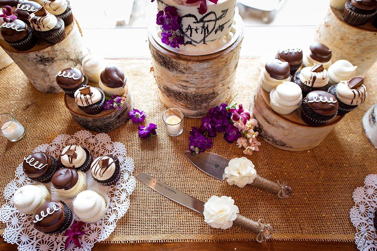 reception cake details lake placid golf club