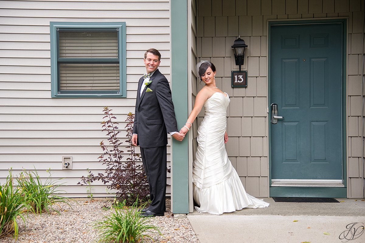 first look photo lake placid wedding photographer
