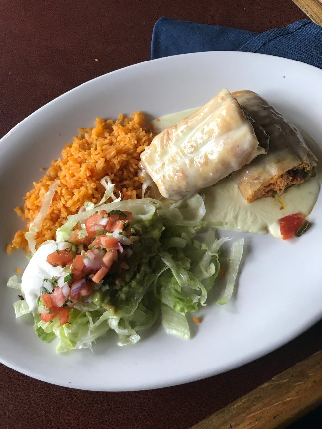 chimichanga blue agave mexican bar grill authentic mexican