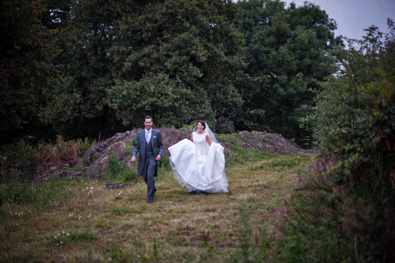 wedding couple, Billinge
