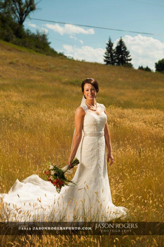 Emily And Jason Sheridan Wyoming Wedding Photgrapher