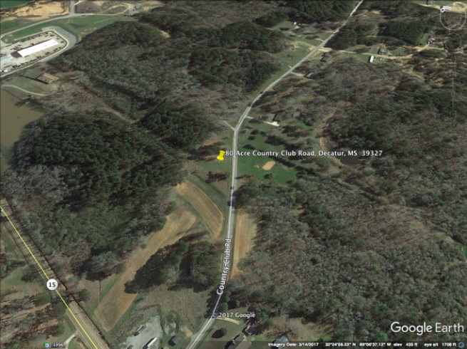 SOLD! Country Club Road, Decatur, MS - .80 Acre on