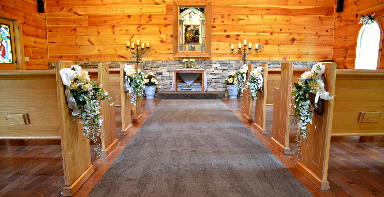 Home Gatlinburg S Little Log Wedding Chapel