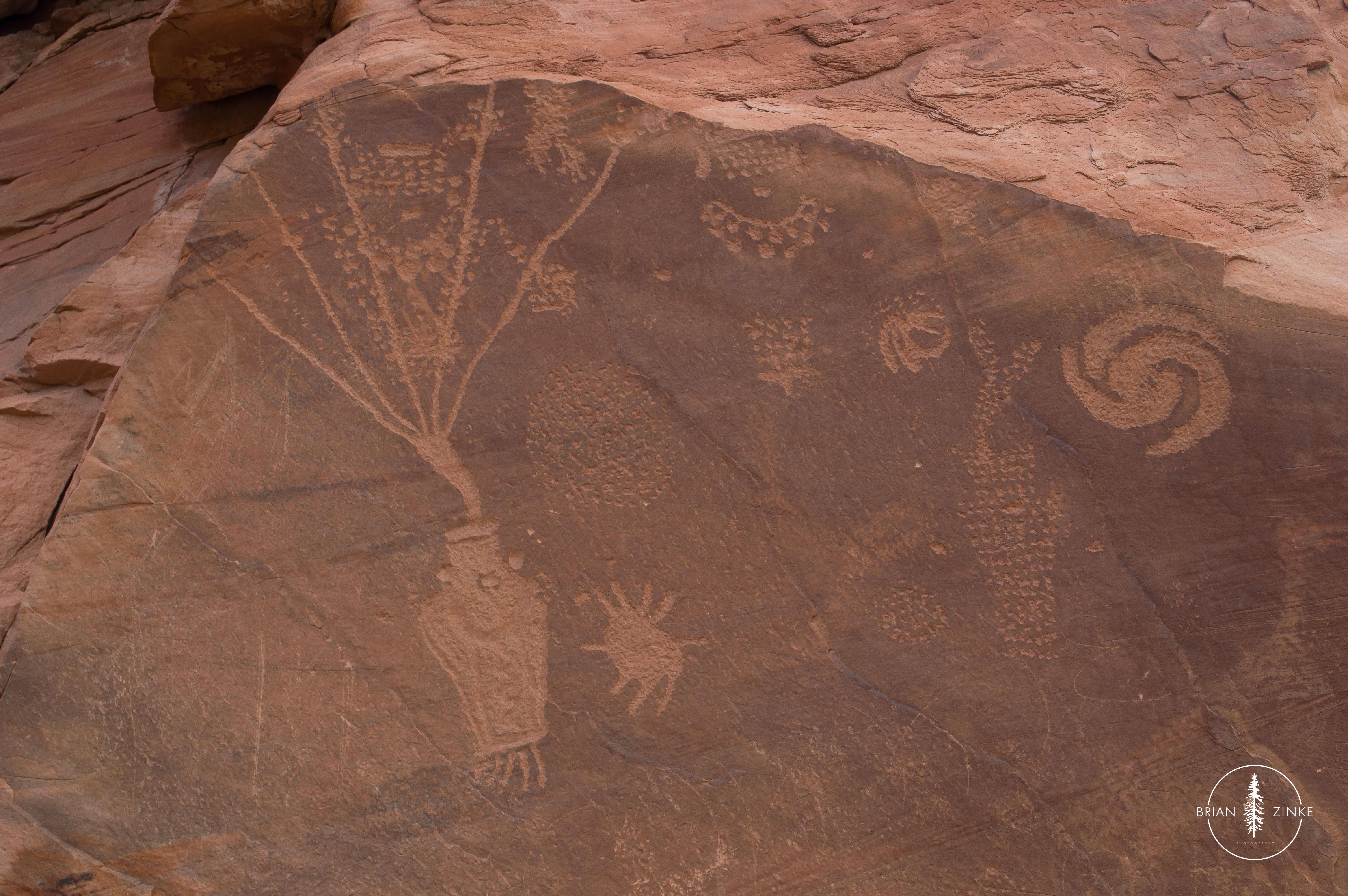 petroglyphs, Dinosaur National Monument, Vernal, Utah