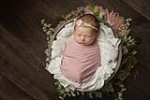 Charlotte Newborn Baby Photographer / Little Brother for Two Big Sisters