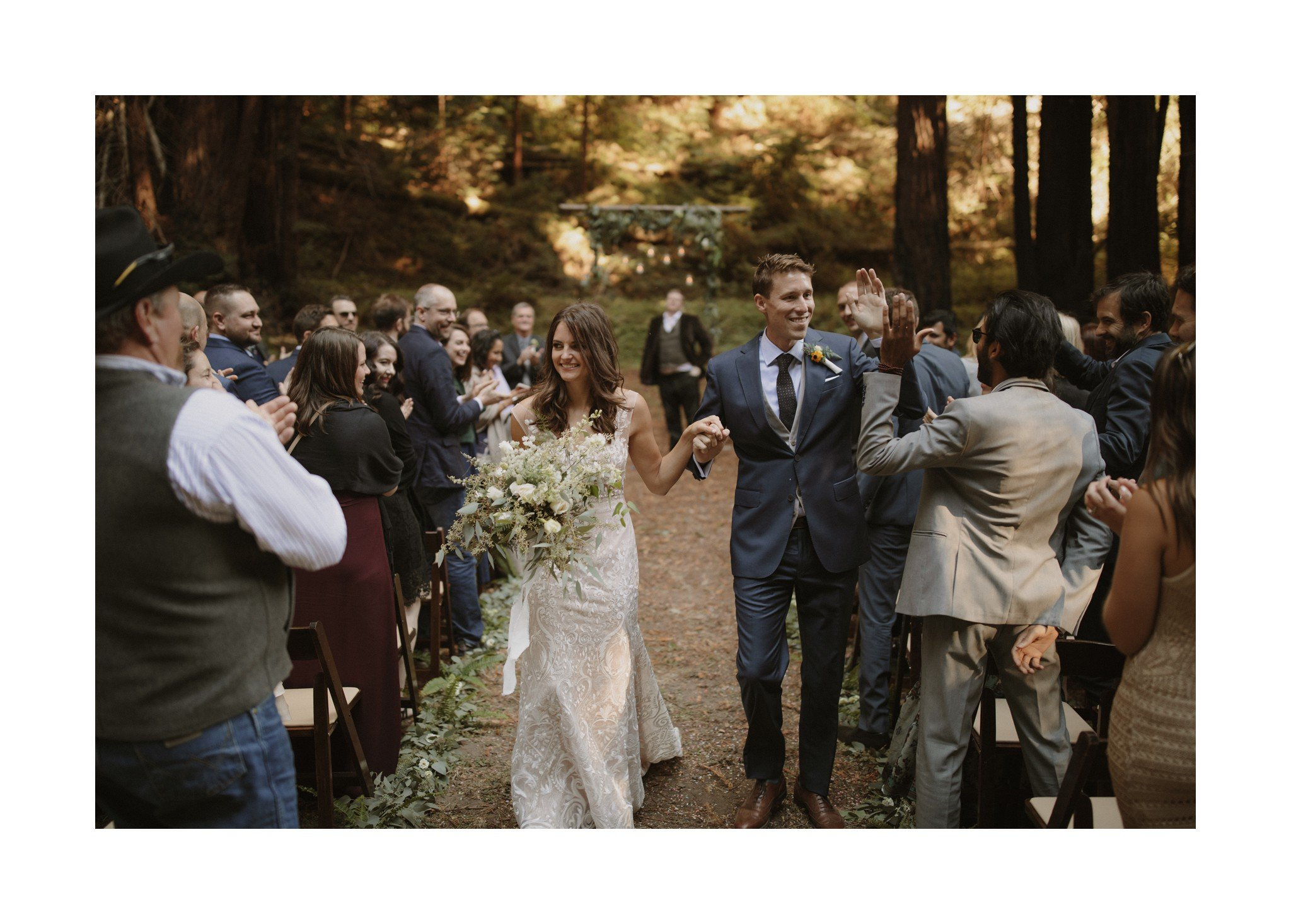 big sur wedding photos