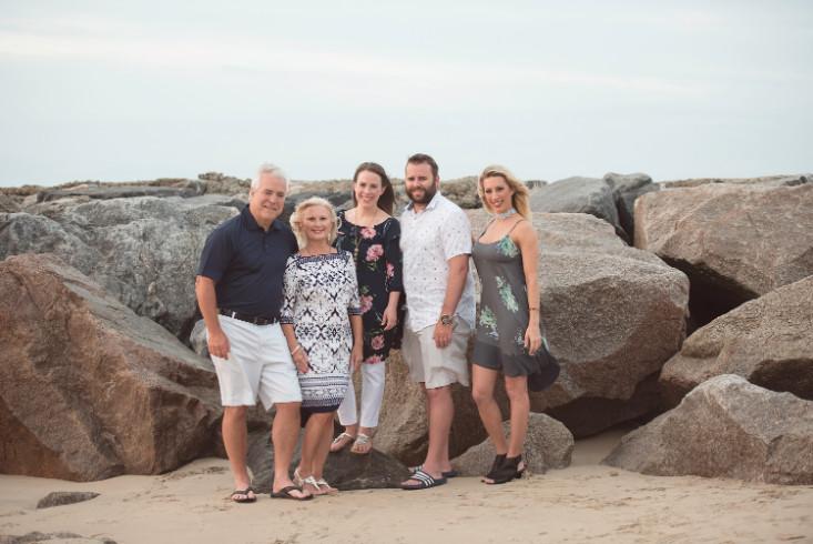 Virginia Beach Family Beach Portraits - Hampton Roads Family Photographer