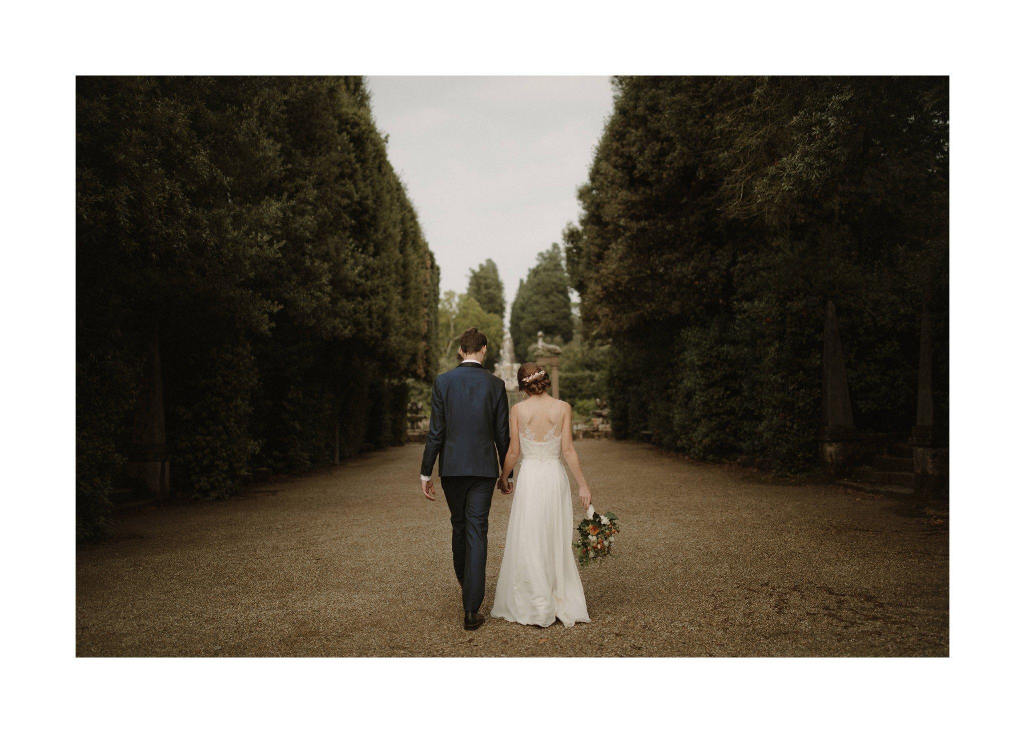 garden wedding florence