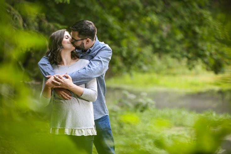 Ashley & Trevor. Engaged.