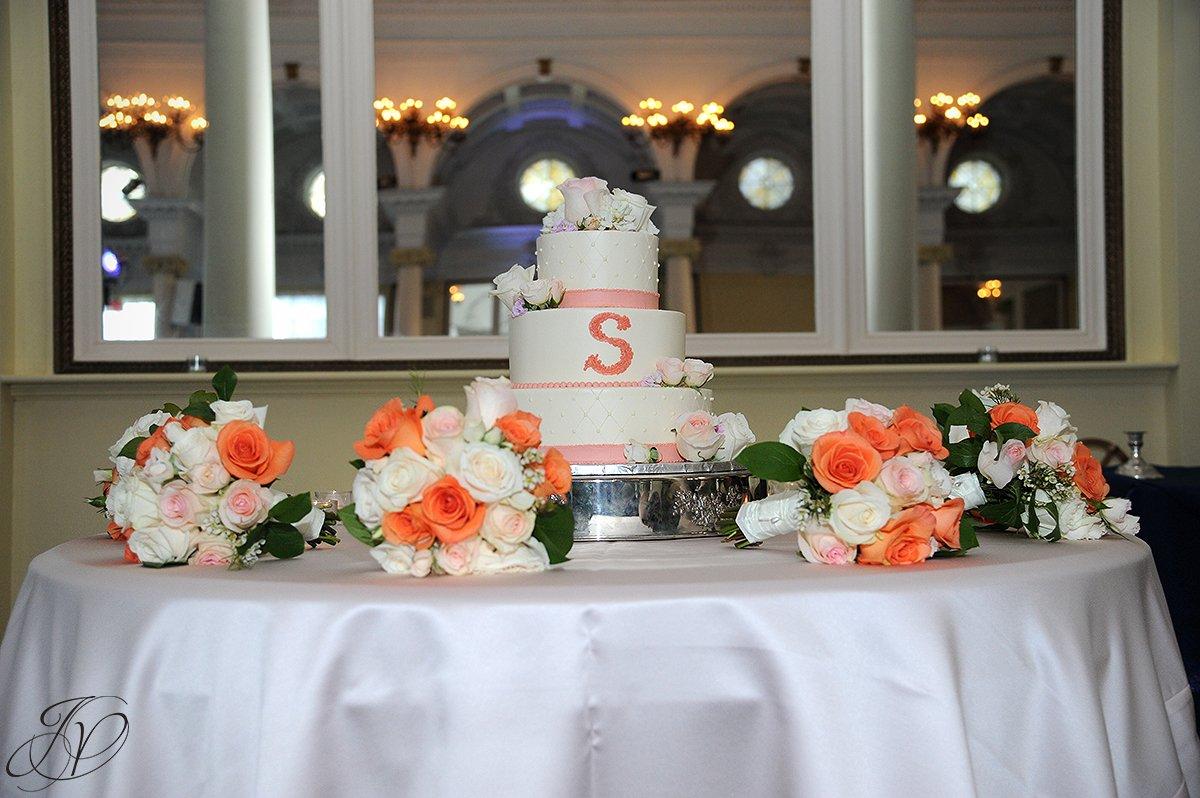 wedding cake photo, wedding cake detail photo, The Canfield Casino wedding, Saratoga Wedding Photographer, wedding in congress park photo