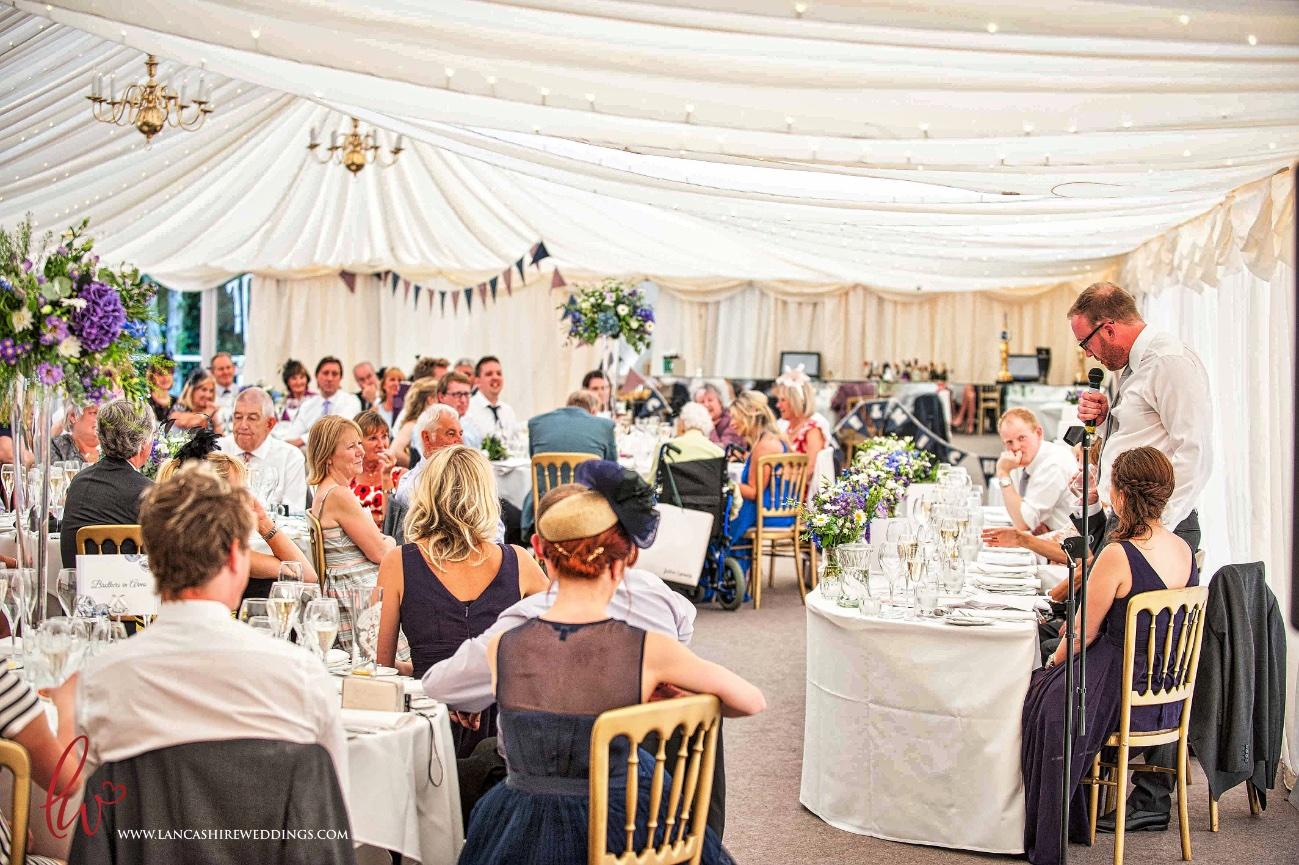 Nunsmere Hall wedding speeches