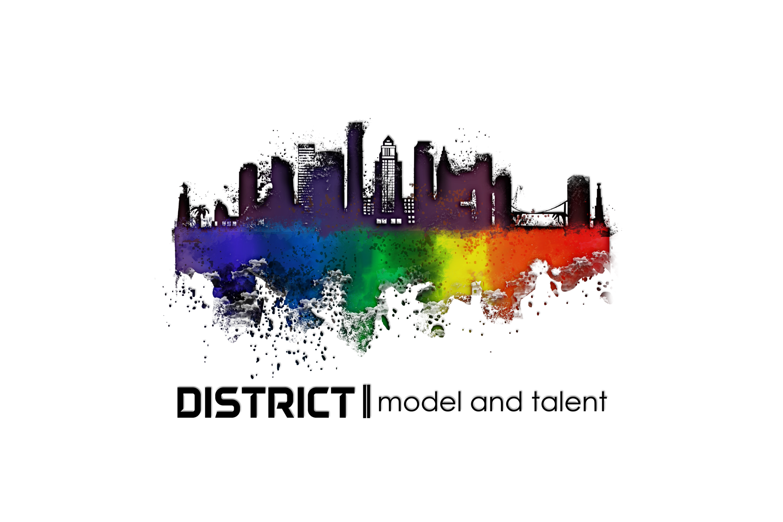 district model and talent agency