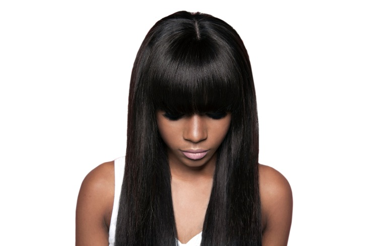 Full Hair Weave Styles: Full Fringe Weave Hairstyles