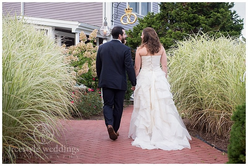 On The Marsh Bistro Wedding in Kennebunkport ME, photographed by Freestyle Weddings
