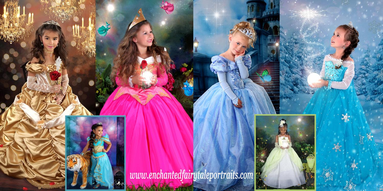 DISNEY-inspired Princess Themes